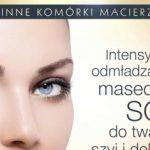 Intensywnie odmładzająca maseczka Eveline Cosmetics do twarzy, szyi i dekoltu