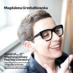 Spotkanie z Magdaleną Grzebałkowską w Poznaniu,18.05