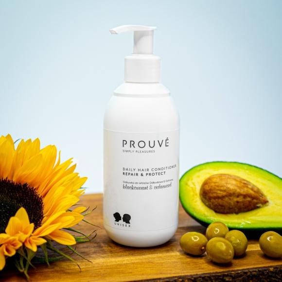 Siła karczocha, alg i bambusa w kosmetykach do pielęgnacji włosów od Prouvé LIFESTYLE, Uroda - Mocne i zadbane włosy to nasza wizytówka. Dlatego polska marka kosmetyczna Prouvé stworzyła odbudowująco-ochronny szampon i odżywkę do włosów, bogate w aktywne składniki - Keracyn™ z karczocha, ekstrakt z liści bambusa, botaniczny kompleks 5 alg oraz wodę morską z głębi ziemi.