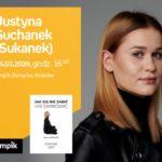 """ODWOŁANE - Justyna Suchanek (""""Sukanek"""") w Empik Bonarka"""